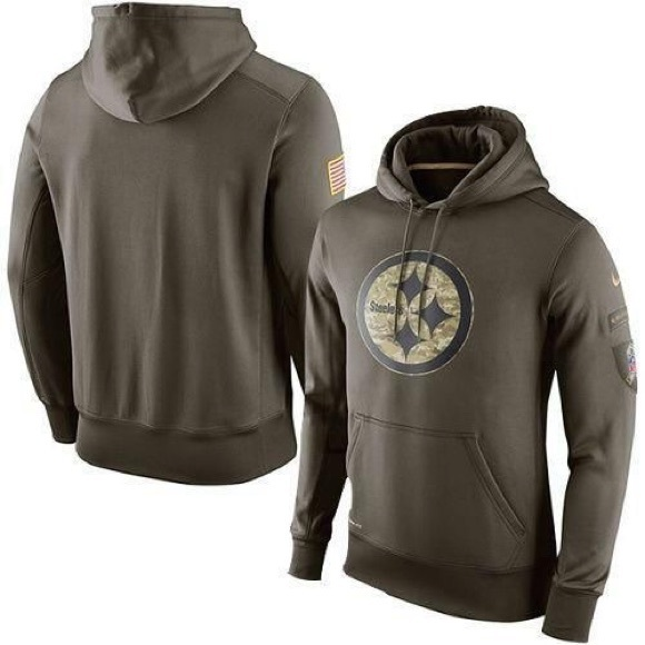 reputable site 86c30 c49f4 Nike | Steelers Salute to Service Hoodie